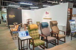 「大川夏の彩展2016」平田椅子製作所ブース