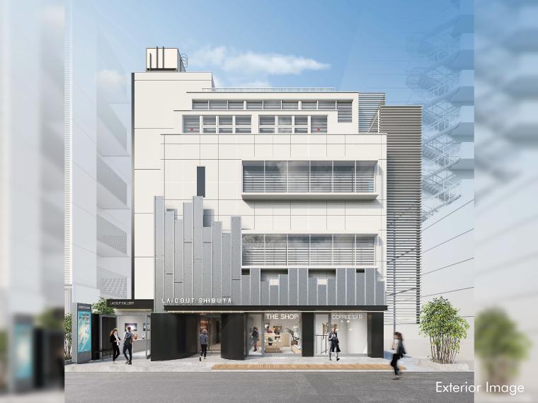「LAIDOUT SHIBUYA」にてARIAKE を期間限定展示